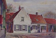 1971-2223 Smidswoning en smederij aan de Charloisse Lagedijk.