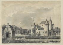 1971-2235 Kasteel Valckesteyn aan de Slotsedijk te Poortugaal.
