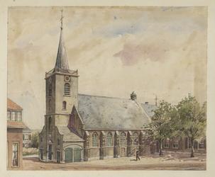 1971-2243 Nederlands Hervormde Kerk aan de Kerklaan te Capelle aan den IJssel.