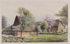 VERHEUL-NR-101 Lekkerkerk, Lekdijk.Boerderij.Eigenaar H. de Jong Wzn.Bewoners A. Slingeland Dzn. en twee andere gezinnen.