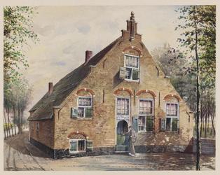 VERHEUL-NR-106 Berkenwoude, Oosteinde.Boerderij.Eigenaar A. SpeksnijderAnno 1667