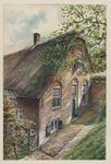 VERHEUL-NR-113 Gouderak, Gouderakschedijk.Boerderij.Eigenaar P. van der GraafAnno 1665.Afgebroken 1935.