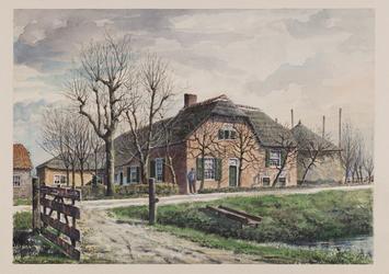 VERHEUL-NR-128 Boerderij aan de Kethelweg te KethelEigenaar, bewoner P. Lansbergen.Huidige situatie: waarschijnlijk ...