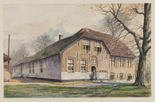 VERHEUL-NR-140 Boerderij Middel-Huyse nabij de Holyweg in Vlaardinger Ambacht.Eigenaar, bewoner Joh. ZonneveldAnno ...