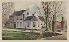 VERHEUL-NR-149 Boerderij Rust-Hoff, Oostgaagweg 13-15 in Maasland.Eigenaar, bewoner A. van den Kooij.