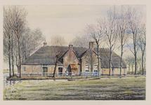 VERHEUL-NR-154 Boerderij Korpershoek aan de zijde bij de Oostgaagweg te Schipluiden.Eigenaar, bewoner H. ...