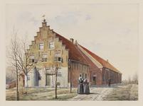 VERHEUL-NR-161 Een boerderij, aan de Kleiburgseweg in Sommelsdijk, gebouwd 1666.Eigenaar: L.J. de Graaff.