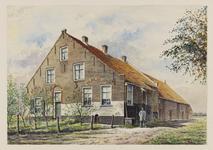 VERHEUL-NR-164 Boerderij, aan de Vroonweg in Sommelsdijk, gebouwd in 1634.Eigenaar: J.A. van Dis.