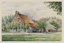 VERHEUL-NR-165 Boerderij Bouwlust, aan de St. Anthonyweg in Oude Tonge, gebouwd in 1732.Eigenaar: J. Pollemans.