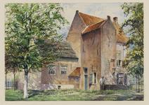 VERHEUL-NR-168 De achterzijde van een boerderij, aan de Langeweg in Oud-Beijerland, gebouwd in 1617.Eigenaars: gebr. ...