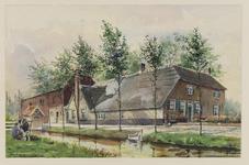 VERHEUL-NR-169 Boerderij, aan de Berkenwoudschehuisweg in Berkenwoude. Eigenaar: mevr. wed. A.J. de Jong.