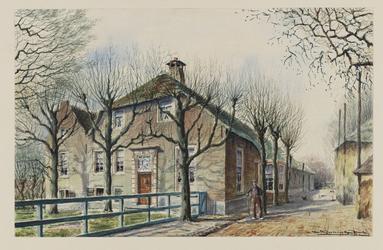 VERHEUL-NR-172 Boerderij Ockenburg , aan de Kleiweg in Rijswijk. Eigenaar: J.C. kersten.