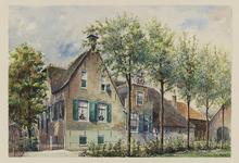 VERHEUL-NR-173 Boerderij Bouwlust, aan de Bovenbergschehuisweg in Bergambacht, gebouwd in 1671.Eigenaar: W. van Vliet ...