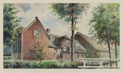 VERHEUL-NR-174 Boerderij, aan de Bovenbergschehuisweg in Bergambacht.Eigenaar: mevr. wed. K. Hoffland.Bewoner:G. van ...