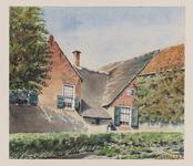 VERHEUL-NR-180 Boerderij, aan de Bovenbergschehuisweg in Bergambacht.Eigenaar: G. de Jong.