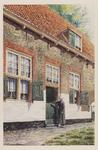 VERHEUL-NR-184 Hoofdingang van een boerderij, aan de Zuidbuurtscheweg hoek Boonervliet in Maasland, gebouwd in 1711. ...