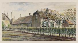 VERHEUL-NR-186 Boerderij Langehof, aan de 's-Gravenweg in Nieuwerkerk a/d IJssel.Eigenaar: E. de Lange.Bewoner: E. van Vliet.