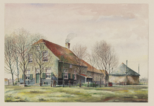 VERHEUL-NR-192 Boerderij, aan de Noordweg in Pijnacker.Eigenaar: J.M. van Winden.