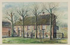 VERHEUL-NR-193 Boerderij Niets zonder Gods zegen , aan de Noordweg in Pijnacker, gebouwd in 1666.Eigenaar: A. van Winden.