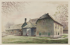VERHEUL-NR-196 Boerderij, aan het Hoogsche Blok (bij de Klapwijkscheweg) in Pijnacker.Eigenaar: J.L. Verburg.