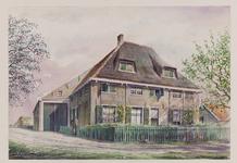 VERHEUL-NR-201 Boerderij De Dammestee, aan de Goudriaanschedijk in Geervliet.Eigenaar: A. Piek.