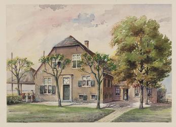 VERHEUL-NR-211 Boerderij Wei- en Bouwlust, aan de Noordeindscheweg in Zevenhuizen.Eigenaar: G. Tuinzaad.