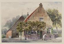 VERHEUL-NR-221 Boerderij Klarebeek, in Ouddorp, gebouwd in 1669.Eigenaar: wed. Tanis.