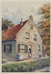 VERHEUL-NR-222 Boerderij 't Hoogehuis, in Ouddorp.Eigenaar: wed. Tanis.