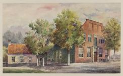 VERHEUL-NR-224 Boerderij Nooit Gedacht, aan de Kerkweg in Zuidland, gebouwd in 1801.Eigenaar: Pleun Dekker.