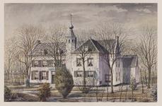 VERHEUL-NR-227 Nieuwesluis.Buitenhuis De Olifant, aan de Heenvlietschedijk in Heenvliet, gebouwd in 1591. Voorheen was ...
