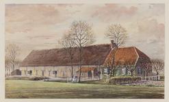 VERHEUL-NR-237 Boerderij De Kloostersteê, in de polder Het Strijpe in Rockanje.Eigenaar: G. van Reij.