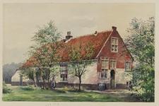 VERHEUL-NR-24 Boerenwoning Noord-Veur aan de Straatweg, Veur.Gebouwd in 1683.