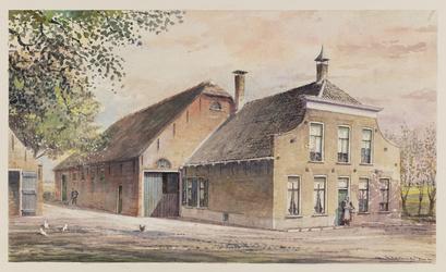 VERHEUL-NR-259 Boerderij De Hartel op de Welplaat te Spijkenisse.Eigennaar, bewoners gebroeders J. en L. ...