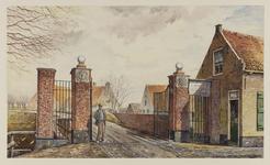VERHEUL-NR-274 Tolhek aan de Dorpsstraat te Heenvliet..Eigendom van de Heerlijkheid HeenvlietTolgaarder weduwe C. ...