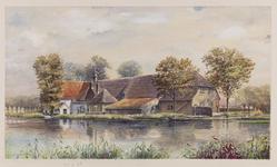 VERHEUL-NR-28 Boerderij Karpershoeve anno 1711aan de Zuidbuurtscheweg hoek Boonervliet te Maasland.