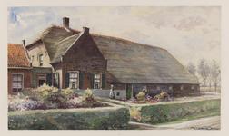 VERHEUL-NR-309 Boerderij Hoogenberg , Achter Ambachtseweg in Hendrik-Ido-Ambacht.Eigendom van Adr. Nugteren.Anno 1718.