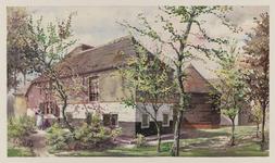 VERHEUL-NR-317 Boerderij aan de 2e Veenweg in de Zouteveenschepolder, Vlaardinger-Ambacht.Eigenaar J. LangerlaanHuidige ...