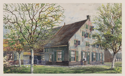 VERHEUL-NR-329 Boerderij Johanna Hoeve , Kwakscheweg in Oud-Beijerland.Eigendom van weduwe A. Blussé van Oud-Alblas te ...