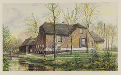 VERHEUL-NR-340 Boerderij, Zuideindscheweg in Delfgaauw (gemeente Pijnacker)Eigendom van H. van Bregt.