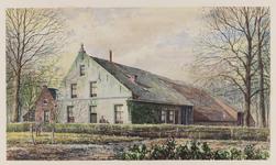 VERHEUL-NR-358 Boerderij aan de Langeweg te Oude-Tonge.Eigenaar: G. Verweij.Bewoner: A. Munters Dzn.Bouwjaar: ...