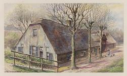VERHEUL-NR-361 Boerderij aan de Lekdijk te Lekkerkerk.Eigenaar: Gebr. Boon.Huidige situatie: afgebroken in 1931.