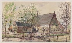 VERHEUL-NR-379 Boerderij Bouwlust-Zeldenrust circa 1650, aan de Aaldijk te Hekelingen.Eigenaar: Wed. J. Soeteman te ...