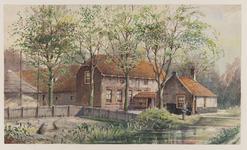 VERHEUL-NR-381 Boerderij Vredebest aan de Westgaag te Maasland.Eigenaar, bewoner: J.W. van Leeuwen.Bouwjaar: circa ...