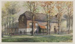 VERHEUL-NR-383 Boerderij Torenzicht aan de Westgaag te Maasland.Eigenaar, bewoner: J. van Woerden.Huidige situatie: ...