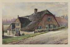 VERHEUL-NR-41 Boerderij aan de Lekdijk (onbekend), te Streefkerk.Eigenaar: F. Oskam.
