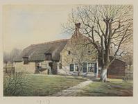 VERHEUL-NR-42 Boerderij aan de Laning, te Hoogvliet.Eigenaar, bewoner: C. van den Berg.Huidige situatie: afgebrand 18 ...