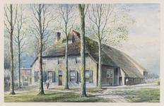 VERHEUL-NR-464 Boerderij Mewensoort , Schenkeldijk in 's-Gravendeel.Eigendom van gebroeders R.H.J. en W. Molendijk.Anno 1675.