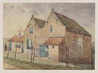 VERHEUL-NR-480 Huisjes aan de Heysedijk. Oude Boerenarbeiderswoningen aan den Heysche dijk in den Deyffelbroeksche ...
