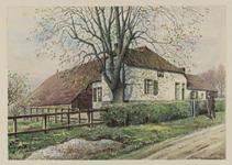 VERHEUL-NR-75 Boerderij van eigenaar S. van Dam aan de Kerkesteeg in Kijfhoek, gemeente Zwijndrecht.