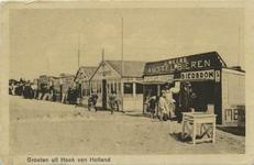 PBK-10355 Strandtenten in Hoek van Holland.